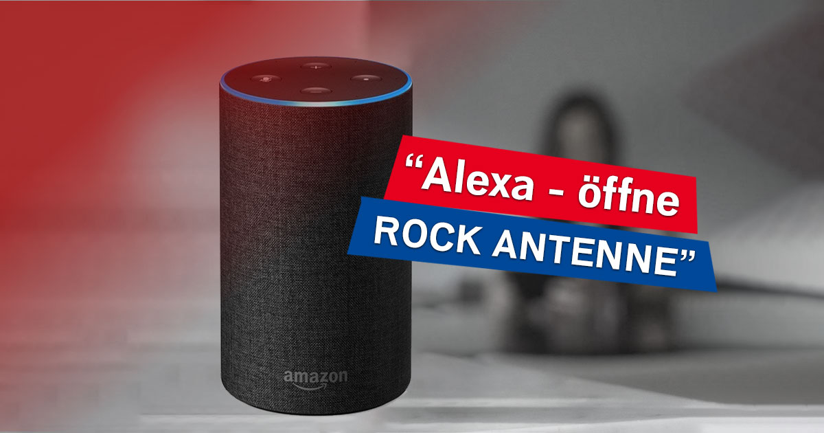 Der beste Rock nonstop per Smart Speaker