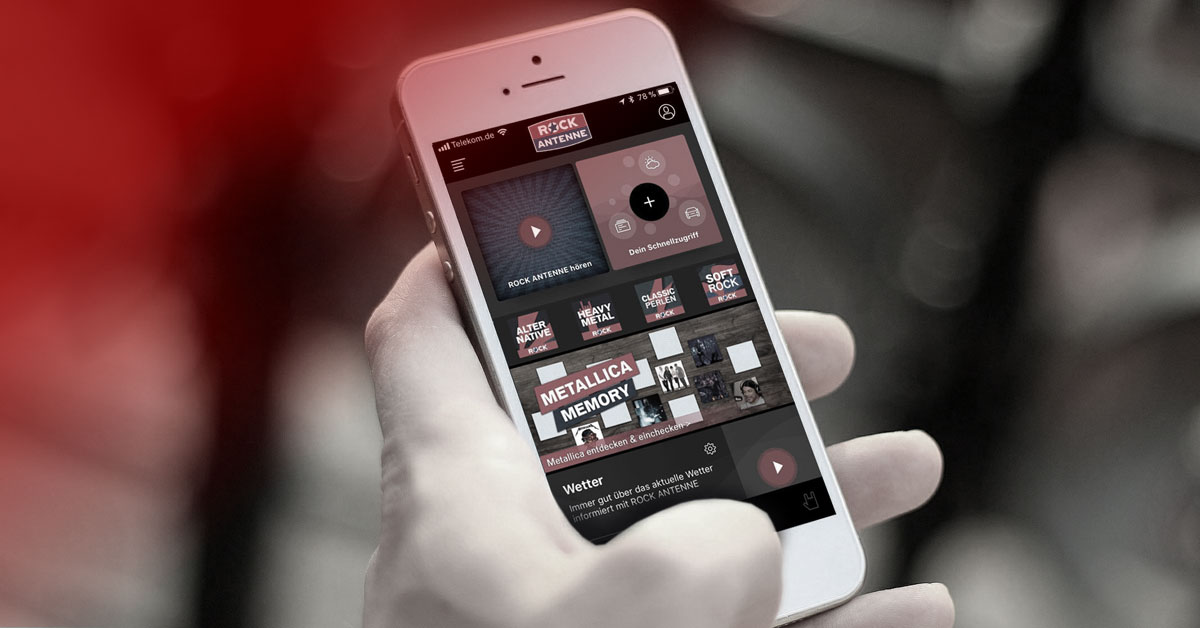 Der beste Rock Nonstop via UKW, App, Satellit & Co. - Alle Infos gibt's hier!