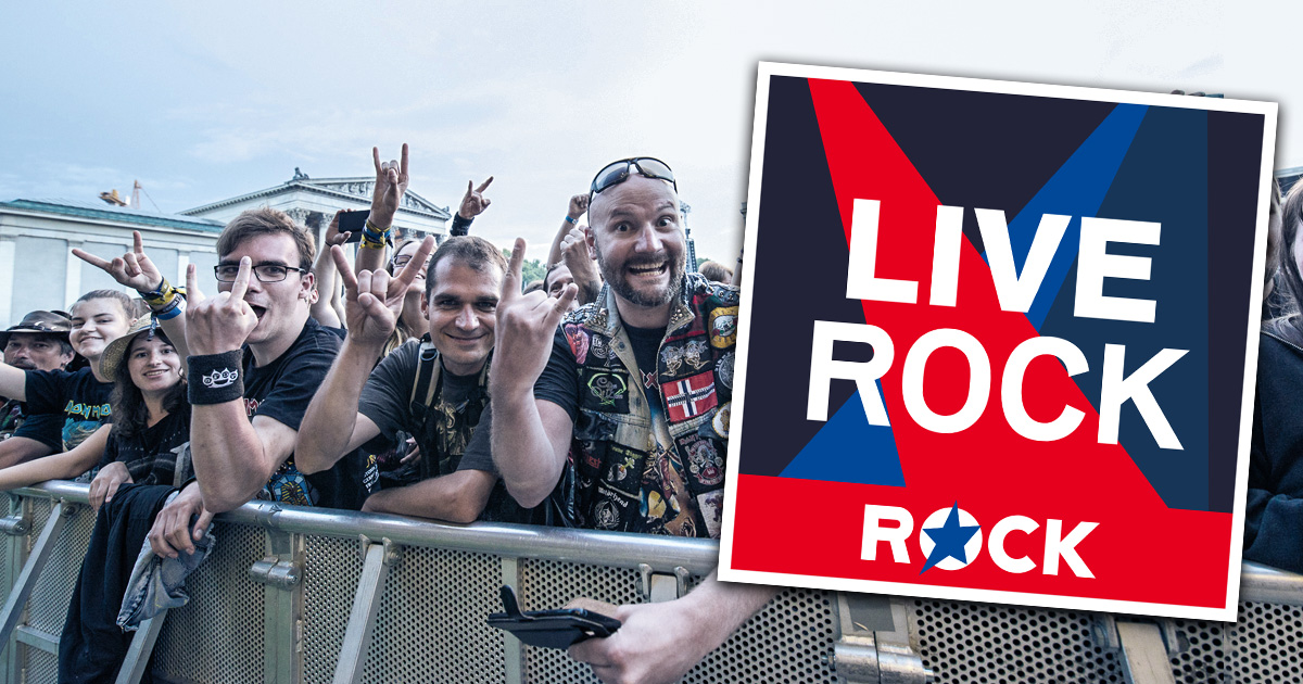 Neu in den ROCK ANTENNE Streams: LIVE ROCK!