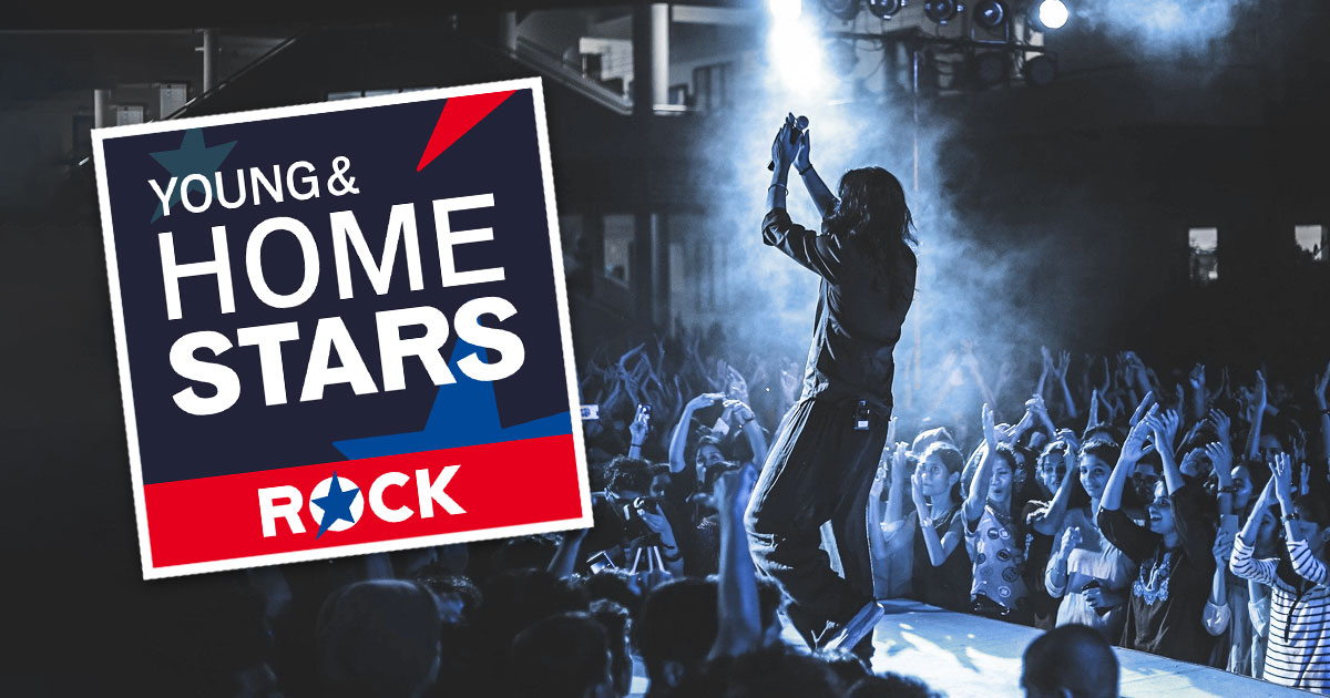 Neu in den ROCK ANTENNE Streams: HOME STARS!
