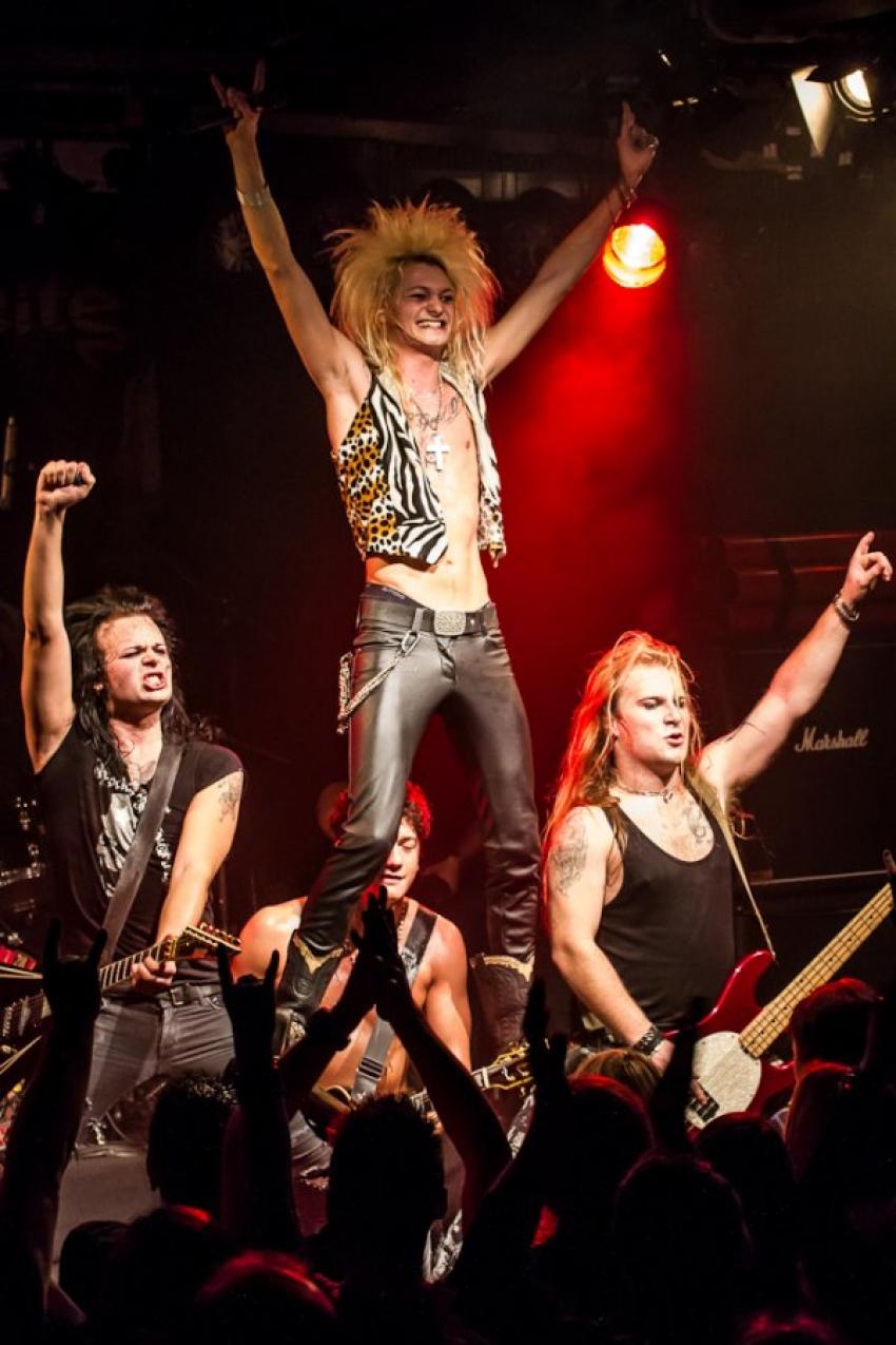 ROCK ANTENNE Radiokonzert mit Kissin Dynamite