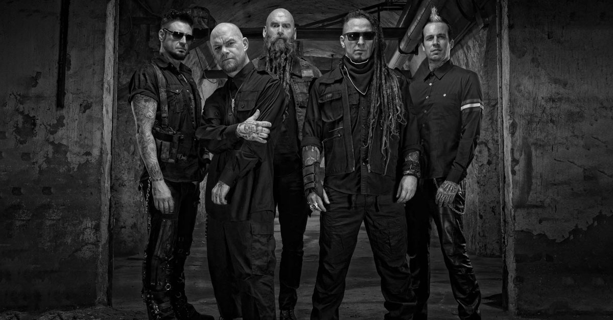 29.11.2017: Five Finger Death Punch + In Flames / München