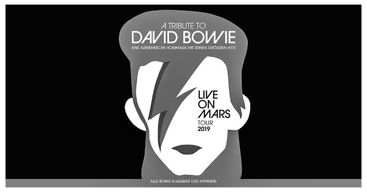 18.11.2019: Live on Mars - A Tribute to David Bowie / München
