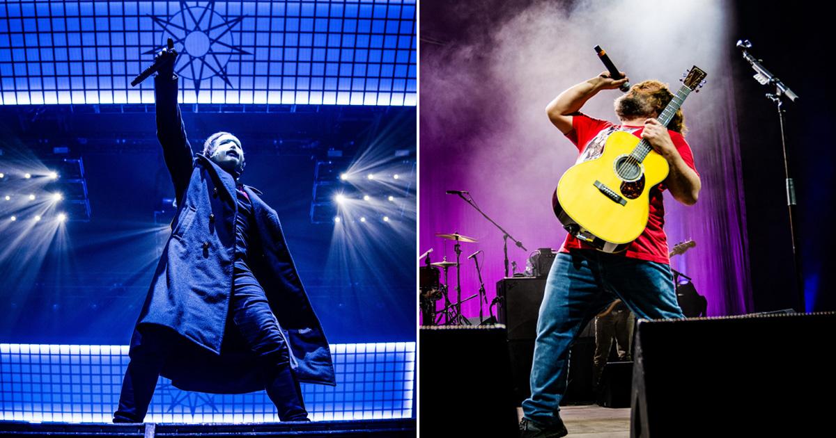 Live rockt: Die Konzertfotos von Slipknot und Tenacious D