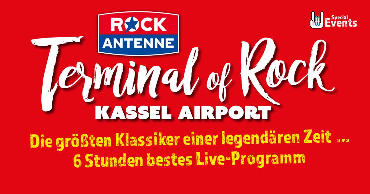 21.03.2020: ROCK ANTENNE Terminal of Rock / Kassel Airport
