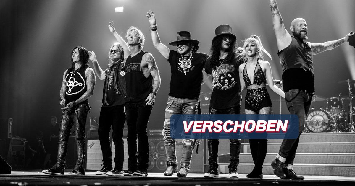 VERSCHOBEN auf 08.07.2022: Guns N' Roses / München