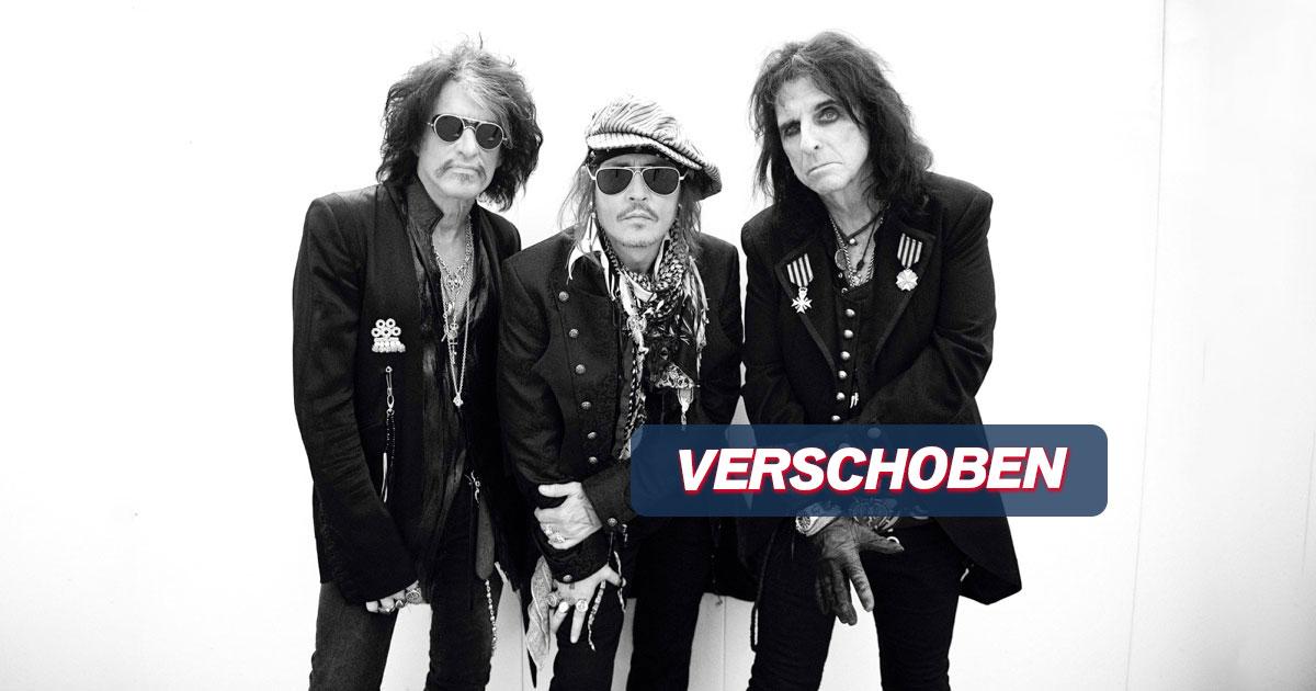 VERSCHOBEN auf 15.08.2021: Hollywood Vampires / München