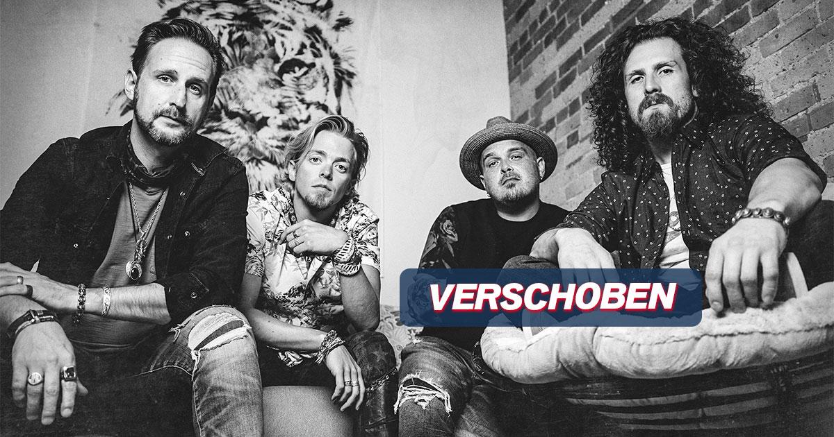 VERSCHOBEN auf September 2022: Black Stone Cherry auf Deutschlandtour - präsentiert von ROCK ANTENNE