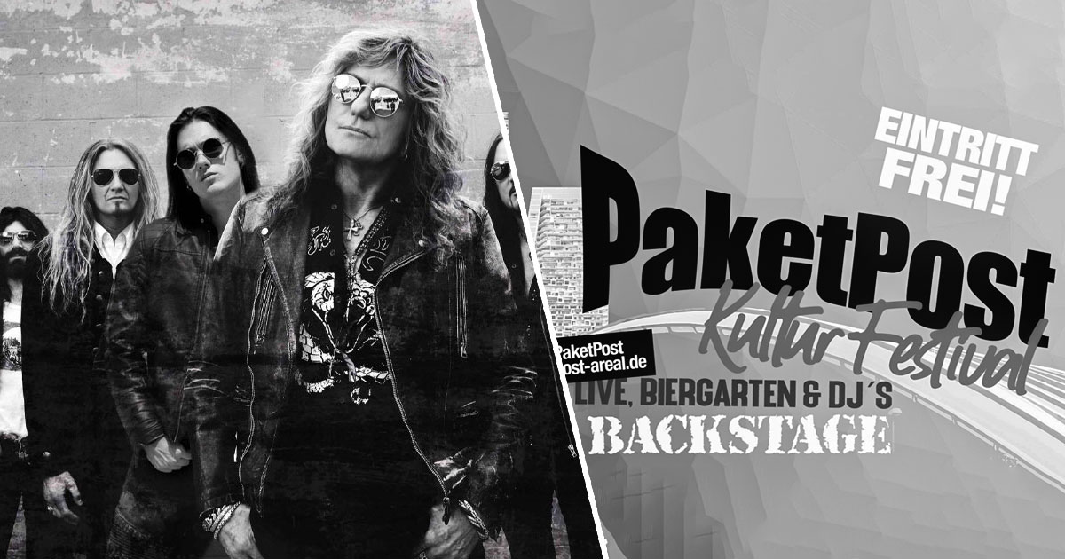 Neu in unserem Konzertkalender: Dog Eat Dog beim PaketPost Festival 2021 / Whitesnake 2022