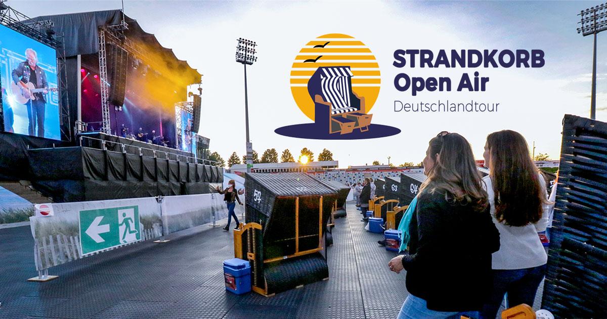 Juli/August 2021: STRANDKORB Open Air mit In Extremo, Doro und Co.
