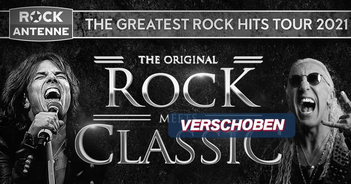 VERSCHOBEN auf April 2022: Rock Meets Classic - präsentiert von ROCK ANTENNE!