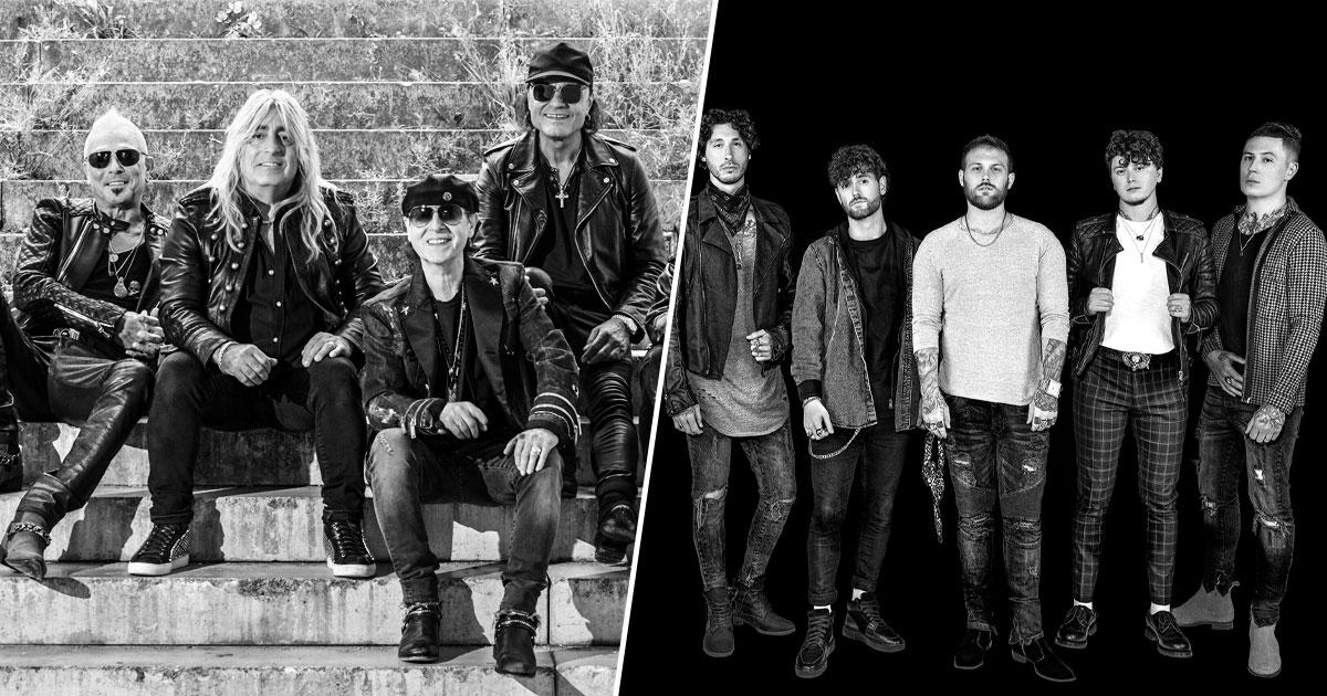 Neu im ROCK ANTENNE Bayern Konzertkalender: Asking Alexandria & Scorpions live 2022!