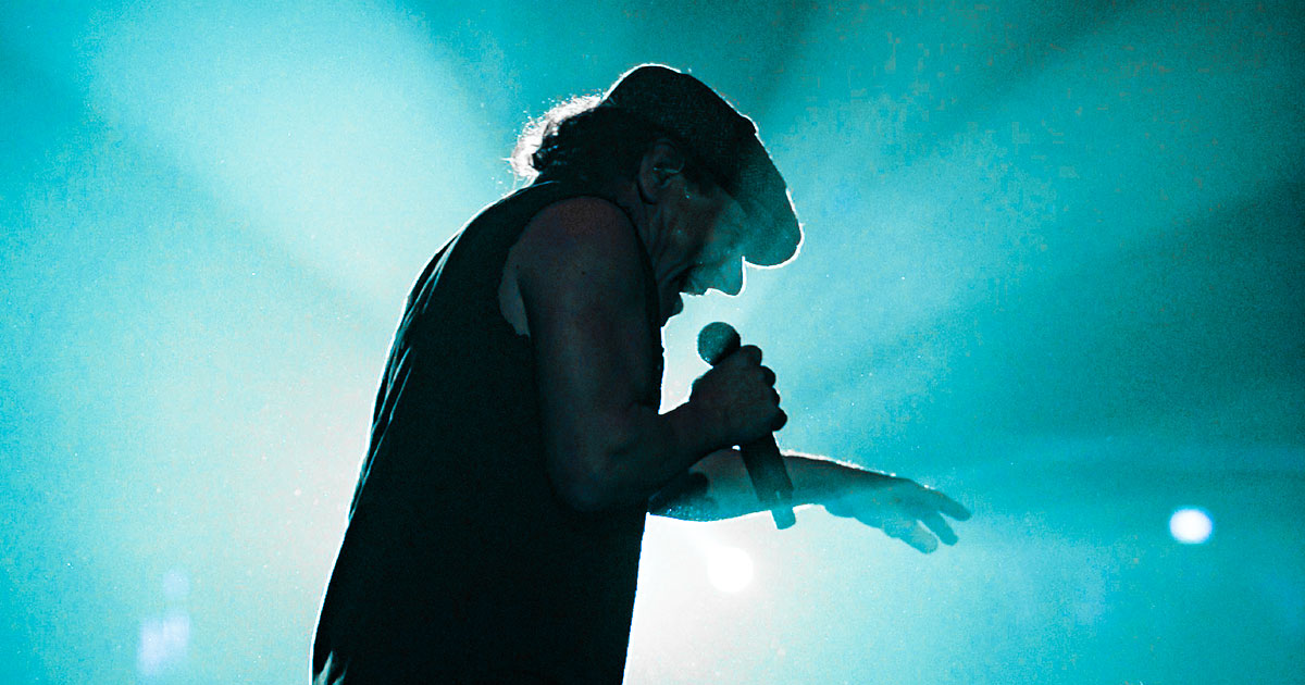AC/DC: Vor 41 Jahren gab Brian Johnson sein Debüt am Mikrofon
