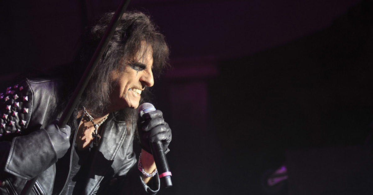 Alice Cooper: Wir feiern den Godfather of Shockrock