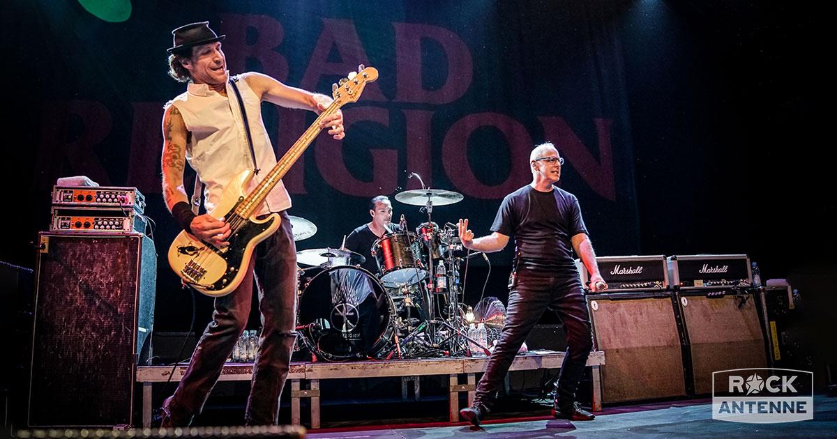 Bad Religion live: Die besten Fotos vom exklusiven Gig in München