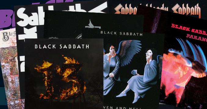 Von Black Sabbath bis 13: Alle Alben von Black Sabbath