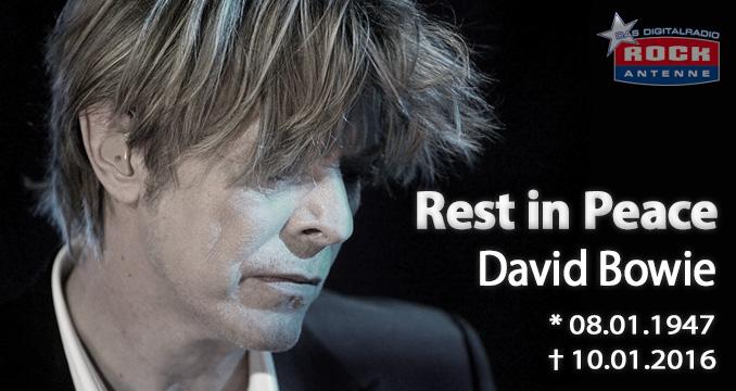 Abschied von einer Legende: David Bowie ist tot