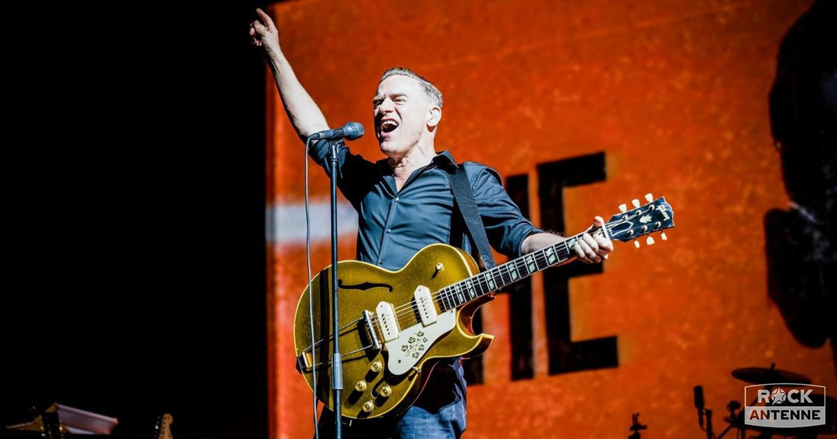 Bryan Adams live 2019: Die besten Fotos vom Hit-Feuerwerk in München