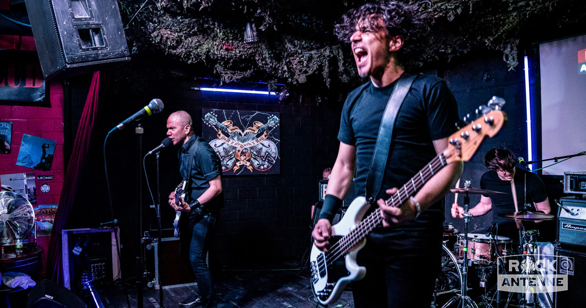 Danko Jones Live im Club: Die Fotos vom ROCK ANTENNE Radiokonzert