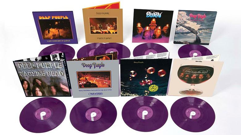 Deep Purple: Acht Klassiker in lila Vinyl