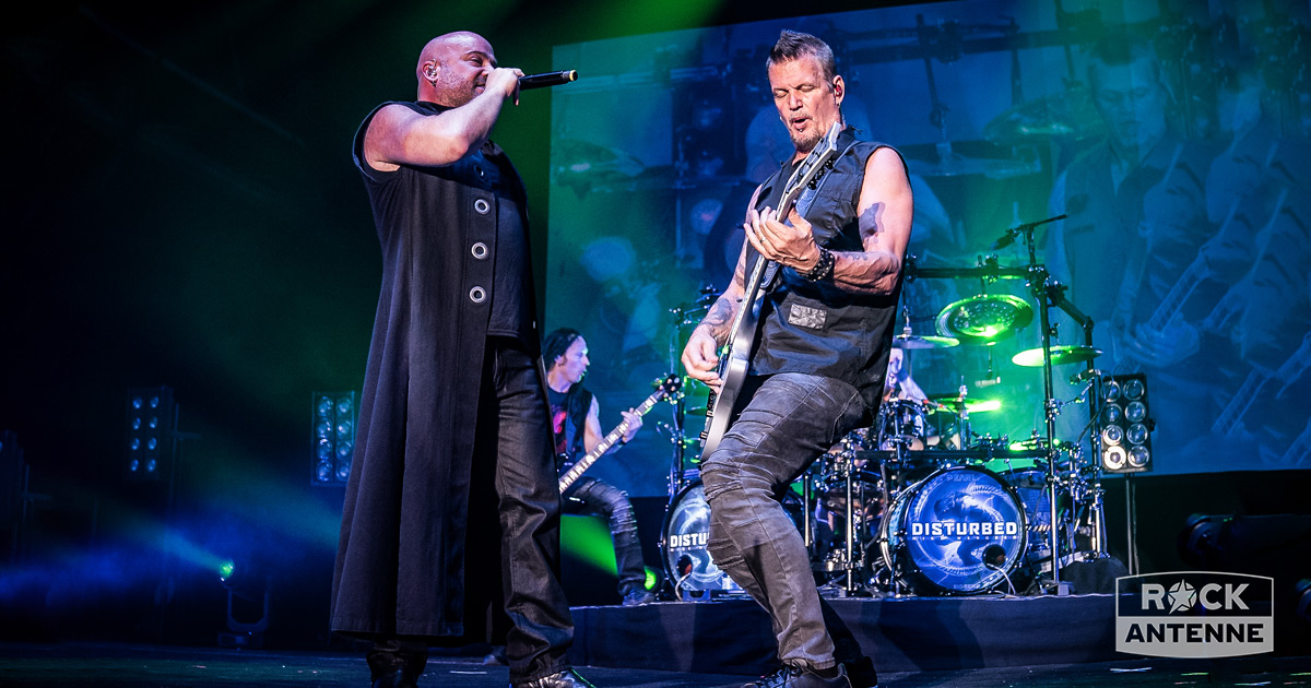 Are you ready? Disturbed live in München - Die besten Fotos