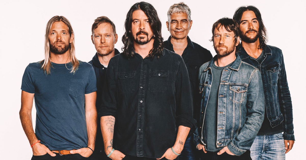 Foo Fighters: Hört hier das exklusive Radio-Interview!