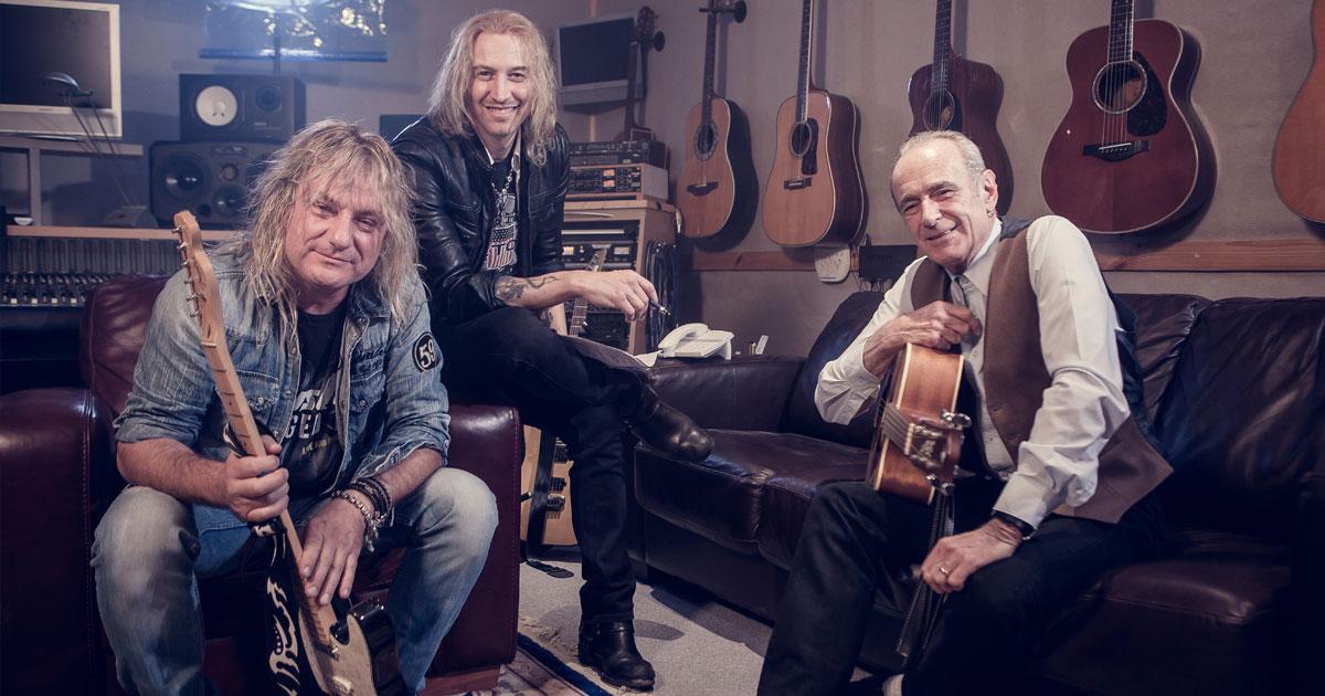 Gotthard: Neue Single mit Francis Rossi von Status Quo