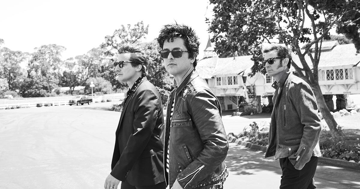 Green Day: Gartenparty zur Album-Veröffentlichung