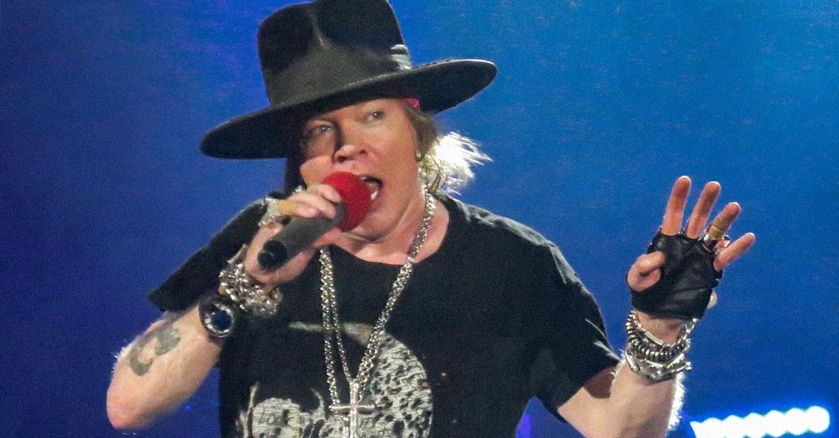 Guns N' Roses: Axl schließt neues Album nicht aus