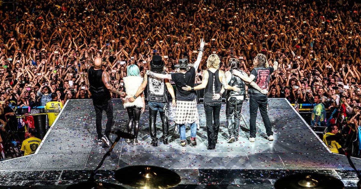 Guns N'Roses: Richard Fortus hofft auf neue Musik dieses Jahr