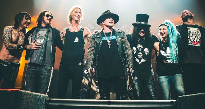 Das große Guns N'Roses Special auf ROCK ANTENNE