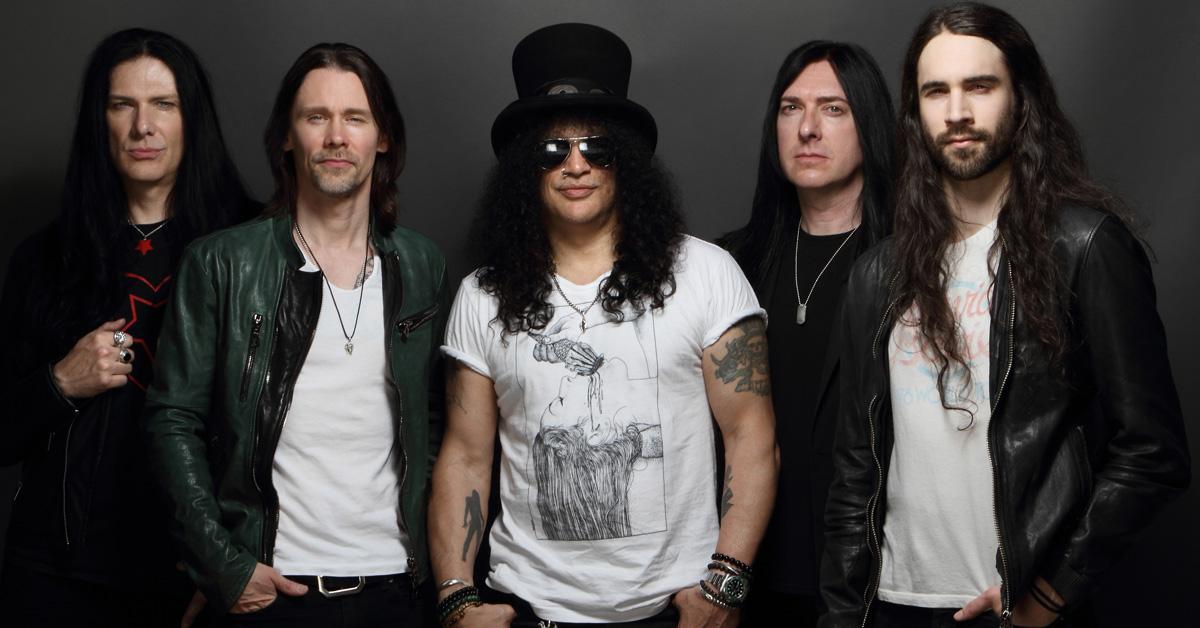 Slash feat. Myles Kennedy & The Conspirators: Europatour im März