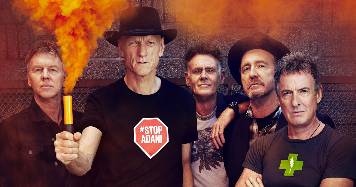 Neu im ROCK ANTENNE Konzertkalender: Midnight Oil live 2019!