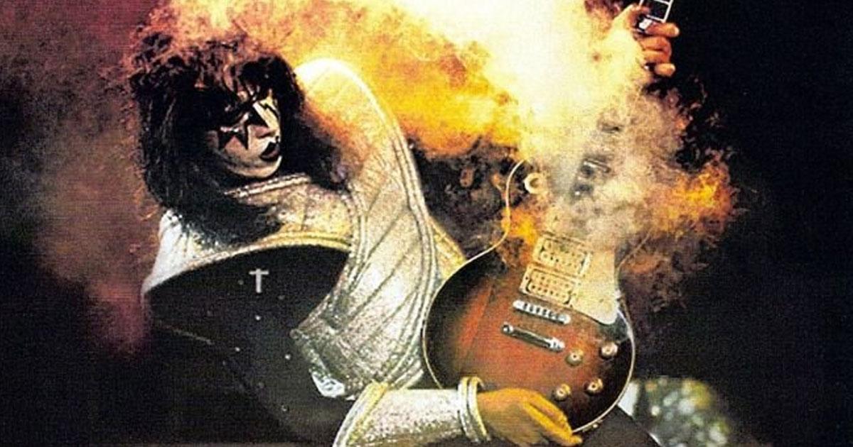 Ace Frehley: Kiss-Gitarrist als Trauzeuge buchbar