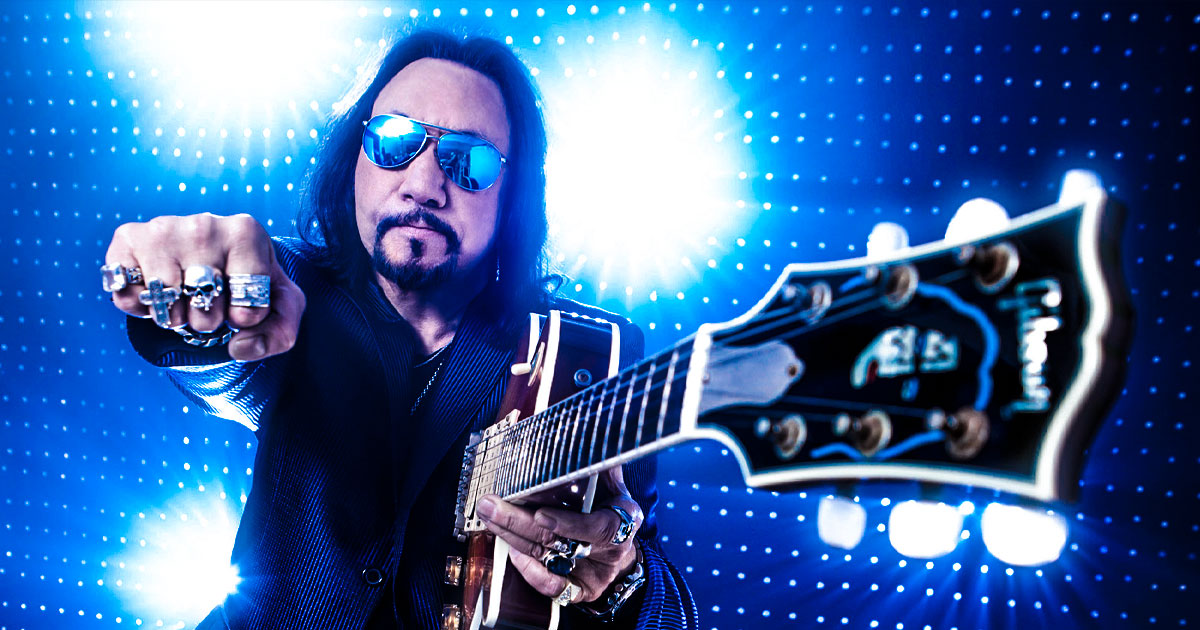 """Ace Frehley: 10 Fakten über """"Space Ace"""""""
