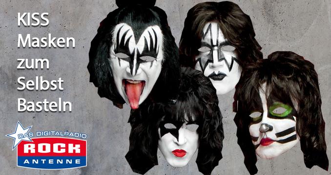 Bastel It Up: KISS-Masken ganz einfach selber basteln!