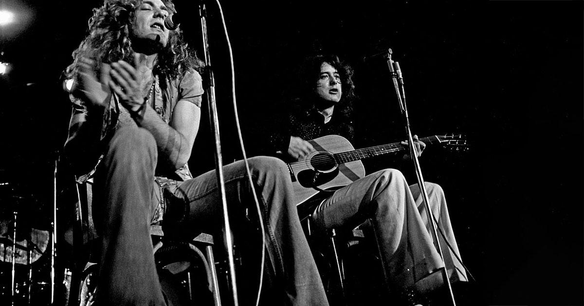 Babe I'm gonna leave you: Vor 38 Jahren lösten sich Led Zeppelin auf