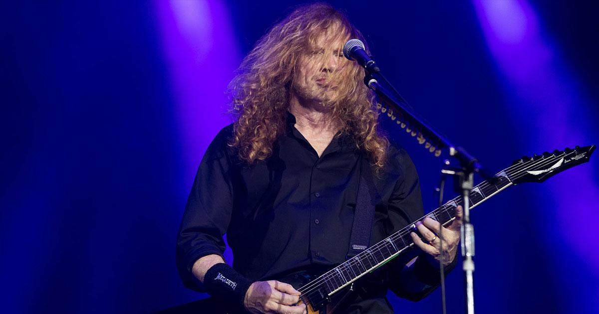 Megadeth: Dave Mustaine an Kehlkopfkrebs erkrankt