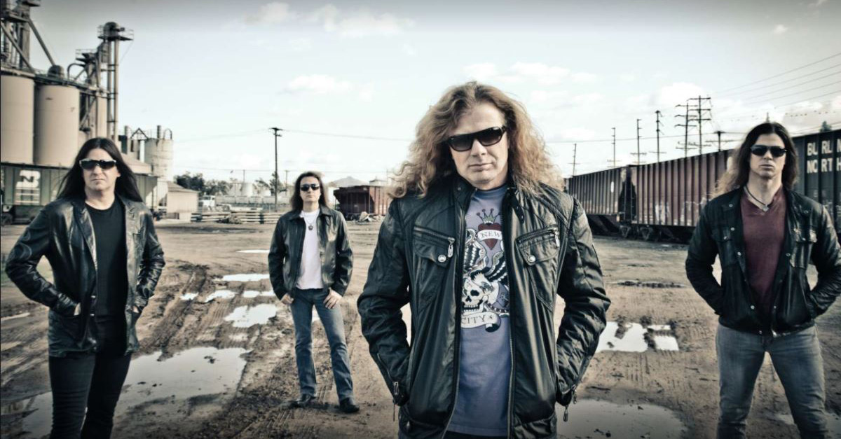 Megadeth: Dave Mustaine zurück im Studio