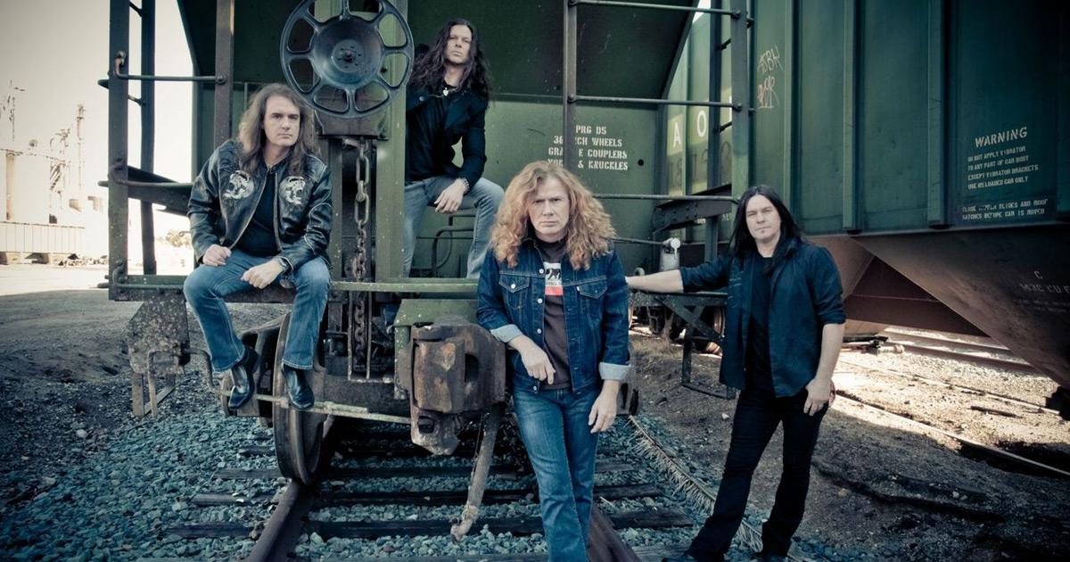 Megadeth: Mustaine und Co. arbeiten am 16. Studioalbum