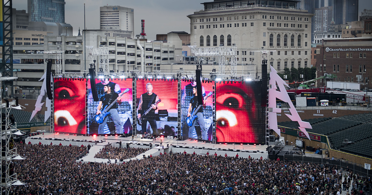 Metallica live in München: Alle Infos zu Einlass, Anfahrt und Co.