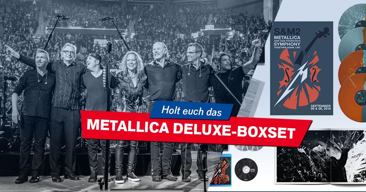 """Gimme that which I desire: Holt euch das fette Metallica-Boxset von """"S&M 2""""!"""