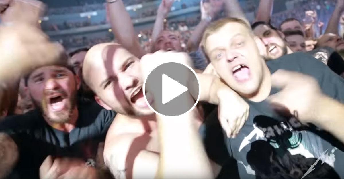 Metallica veröffentlichen Live-Video vom Köln-Konzert