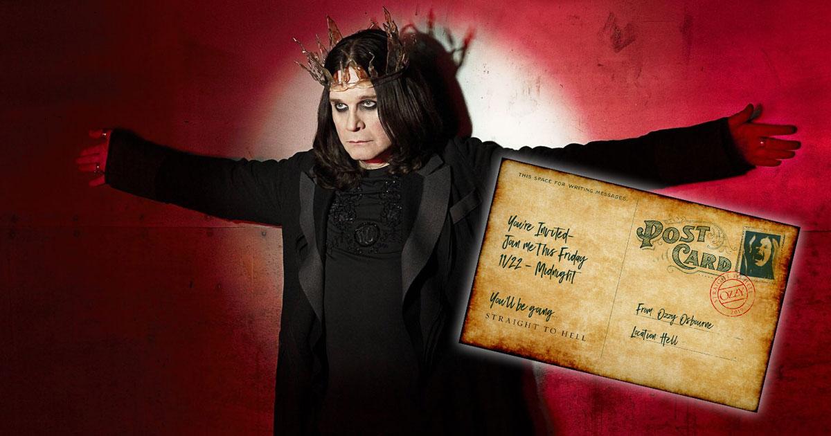 Ozzy Osbourne: Ein neuer Song steht in den Startlöchern