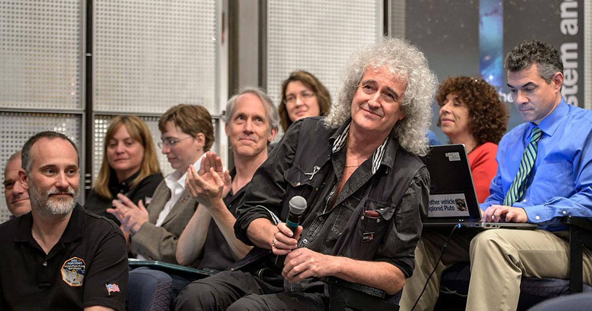 Queen: Brian May stellt neuen Solo-Song bei der NASA vor