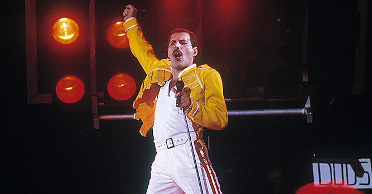 Queens letztes Konzert mit Freddie