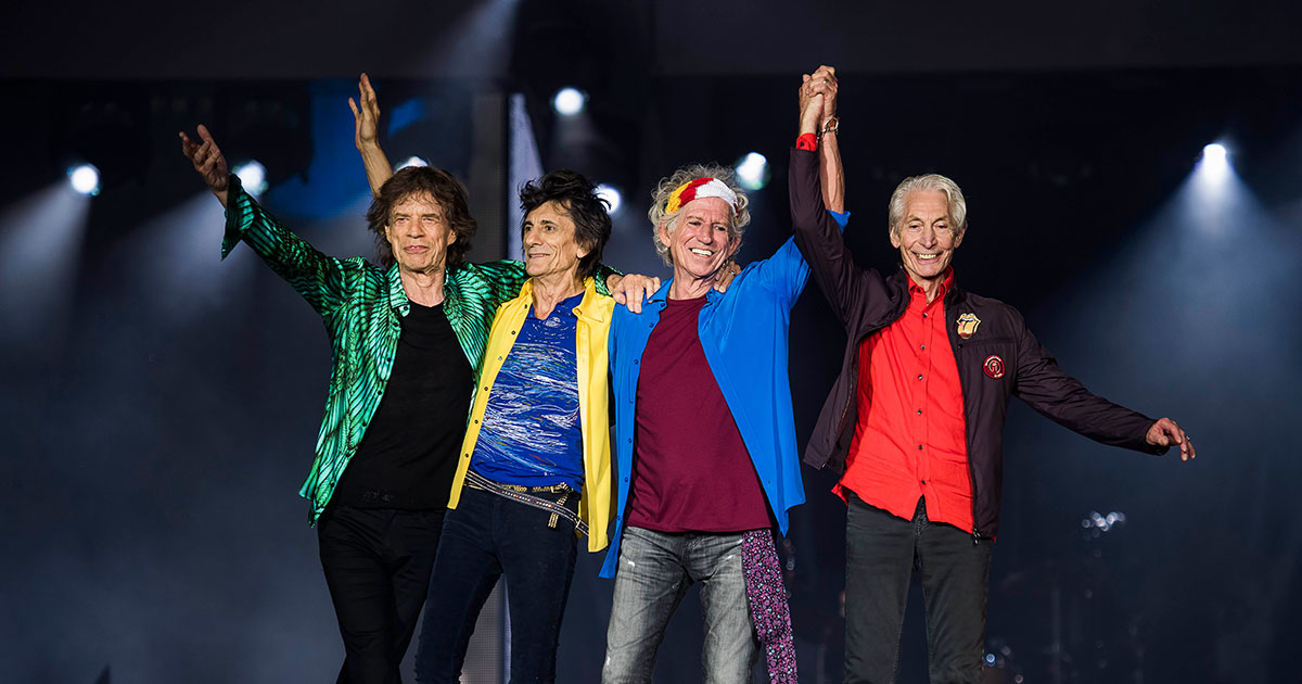 "The Rolling Stones: Der brandneue Song ""Living In A Ghost Town"""
