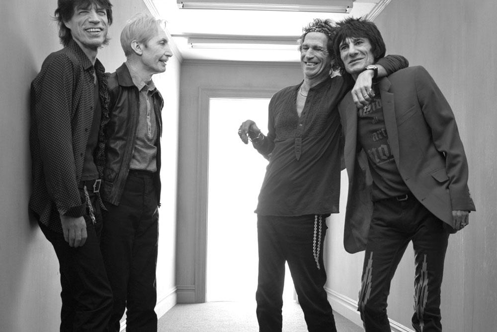 Rolling Stones: Mick Jagger nimmt neue Stones-Songs auf