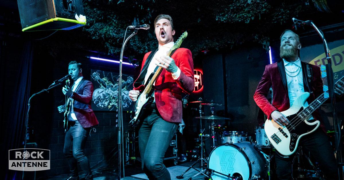 Royal Republic live im Club: Die Fotos vom ROCK ANTENNE Radiokonzert