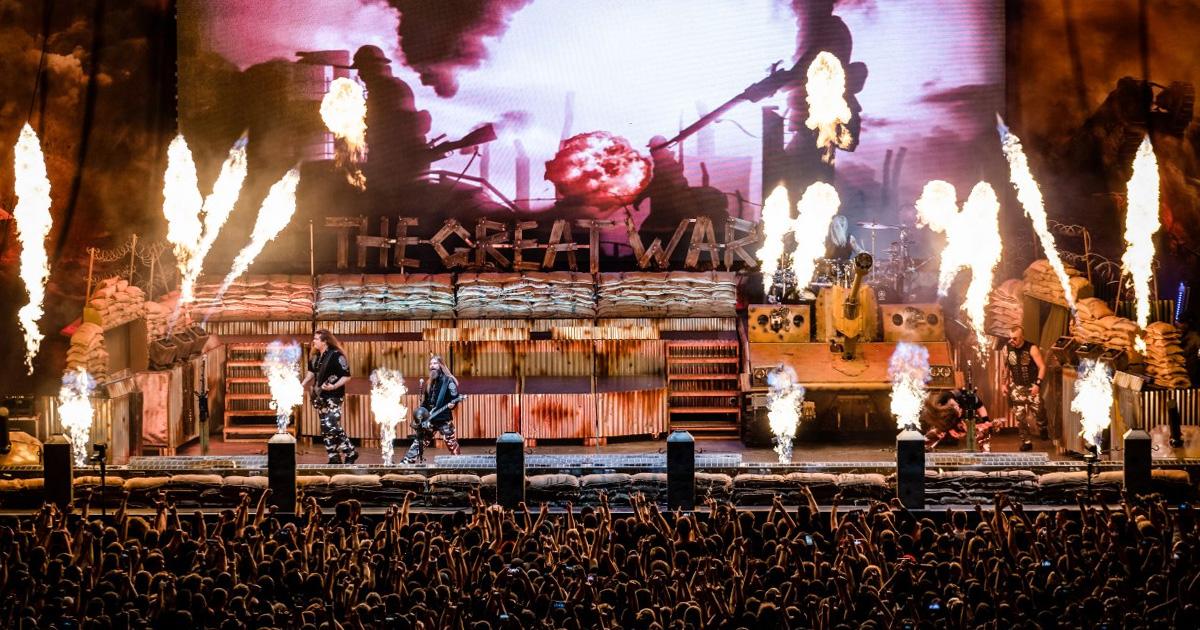 Sabaton live 2020: Die Fotos vom Konzert in München